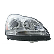 Mb2503204 New Replacement Passenger Side Headlight Assembly Fits 2009 Gl320