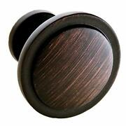 26 Beautiful Cabinet Knobs Oil Rubbed Bronze 26 Pack - Round Solid Metal Knob...
