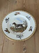 Antique Wire Haired Pointing Griffon Dog Plate Wedgwood Marguerite Kirmse