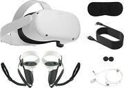 2021 Oculus Quest 2 All-in-one Vr Headset, Touch Controllers, 128gb, Glasses
