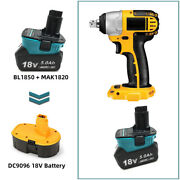 Makita 18v Battery Adapter To Dewalt Xrp Tools For Old Ni-cad Post Style Battery