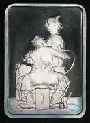1 Oz. Silver Bar - Norman Rockwell Best Loved Post Covers - The Tatooist Toning