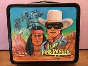 1980 Legend Of The Lone Ranger Vintage Lunchbox With Thermos