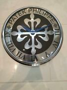 Patek Philippe Display Wall Clock Interior Novelty Not For Sale 31cm St01