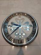 Patek Philippe Display Wall Clock White Novelty Not For Sale 31cm St01