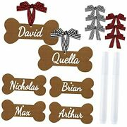 14 Pieces Dog Christmas Ornaments Custom Dog Ornaments Personalized Your Dogand039s