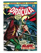 Tomb Of Dracula 10 - 1st Appearance Of Blade The Vampire Slayer