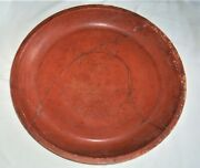 Very Large   Roman Red Ware Pottery Bowl  4th Century A.d.