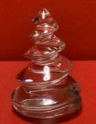 Baccarat Crystal Christmas Clear Tree Ornament Interior