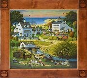 Charles Wysocki Hound Of The Baskervilles Lithograph On Canvas 300 Le - Dk145