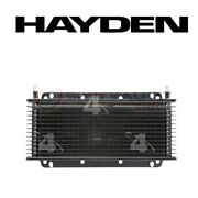 Hayden Automatic Transmission Oil Cooler For 1981-1989 Plymouth Reliant - Ea