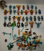 Lego Minifigures Chima Huge Lot 35 Figures + Accessories Authentic ++ Others