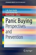Panic Buying Perspectives And Prevention, Paperback By Arafat, S. M. Yasir ...