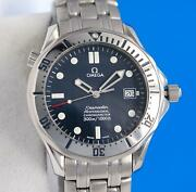Mens Omega Seamaster Automatic Chronometer Watch - Blue Dial - 41mm - 2532.80
