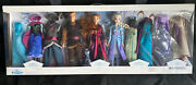 Disney Frozen Fashion Doll Deluxe Gift Set New Elsa Anna And Kristoff Fast Ship
