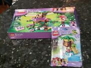 New Sealed Box Lego 3065 Friends Olivia's Tree House + Turtles Little Oasis New