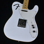 Fender Made In Japan Limited F-hole Telecaster Thinline Arctic White 2021 Model
