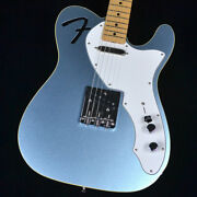 Fender Made In Japan Limited F-hole Telecaster Thinline Mystic Ice Blue 2021