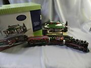 Dept 56 Home For The Holidays Express Gift Set Train And Station Snow Village Iob