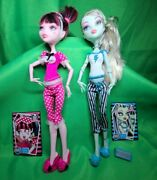 Monster High Dead Tired Frankie Stein And Draculaura 2008