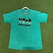 Vintage 1999 Ben And Jerrys Ice Cream Tee Shirt Adult Size Xl Vtg 90s