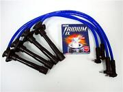 Blue Spark Plug Wires W/ngk 93-97 Toyota Corolla Wt4
