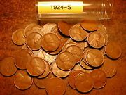 1924-s Lincoln Wheat Cent Roll