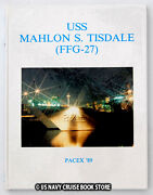 Uss Mahlon Tisdale Ffg-27 1989 Pacex Cruise Book
