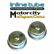 68 69 70 71 72 Chevelle Camaro Spindle Nut Dust Cover Wheel Bearing Dust Cap 2pc