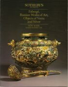 Sotheby's Silver Russian Faberge Imperial Porcelain