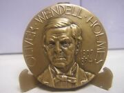 Medallic Art Hall Fame Great Americans Ny Oliver Holmes