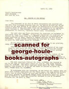 George S. Kaufman Marc Connelly - Signed - Merton Of The Movies