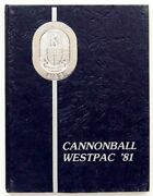 Uss Wabash Aor-5 1981 Cannonball Westpac - Indian Ocean Cruise Book