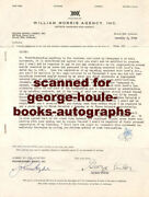 George Cukorcontract1944selznick -autograph