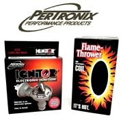 Pertronix Ignitor Ignition Module Delco Marine I4 Dist W/ Flame Thrower Coil Kit