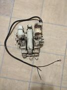 1989 Suzuki 150hp Tilt And Trim Assembly Works Good For Parts Or Repair 1