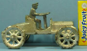 Price Cut Orig Old 1920s Ives Cast Iron Toy Runabout, 2 Seats, 5 Long 2 Hi T41