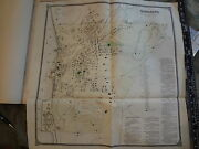 1867 Sing Sing Ossining Westchester New York 23 X 24 Map