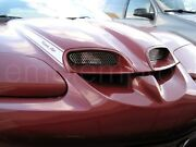 1998-2002 Trans Am Ws6 Mirror Hood Grilles, Color Choice, Grills