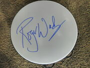 Roger Waters Signed Tambourine Proof Pink Floyd Beautiful Autograph Acoa Cert