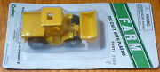 Boley Ho 185-20098 Farm Machinery - 4x4 Tractor W/end Loader And Flatbed - Yellow
