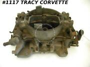 1964-1965 Corvette Used 300 Hp Mt Carter Afb Carb 3721sb Dated D5 Manual Trans