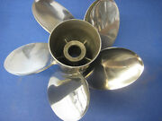 """Signature 21"""" Pitch Five Blade For Mercruiser Sterndrive Boat Propeller 14-b21r5"""