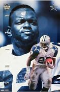 Oop Poster Emmitt Smith Power Portrait Cowboys New