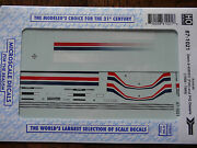 Microscale Decal 87-1021 Amtrak Dash 8-40bwh P40 And P42dc Diesels 1996-1999