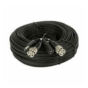 150' Security Camera Cable F/ Wisenet Samsung Security System, Sdh Series, Black