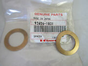 Set Of 2 Kawasaki Spacer,25x38x1.0 92026-1031 For Police Kz1000 And Other Bikes