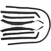Roof Rail Seal Kit Compatible With 1962-1963 Buick Olds Pontiac Convertibles