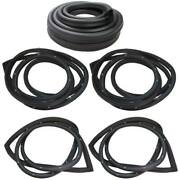 Weatherstrip Kit Compatible With 1976-1977 Chrysler Dodge Plymouth Sedans