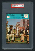 Psa 9 The Stanley Cup Savard And Cournoyer Sportscaster Hockey Card 40-24 Italy